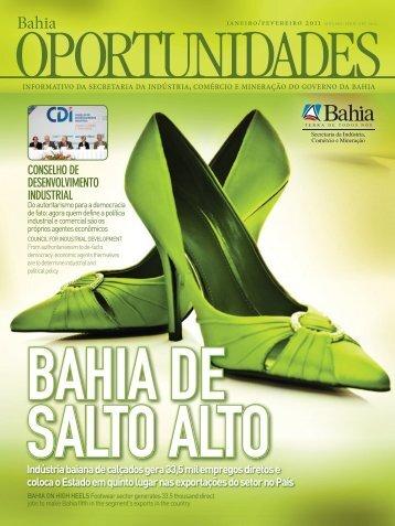 conseLho de desenvoLvImento IndustrIaL - Sicm - Governo da Bahia
