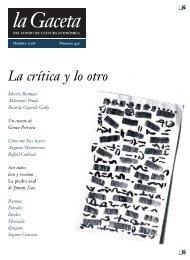 La Gaceta del FCE, octubre de 2006 - Fondo de Cultura Económica