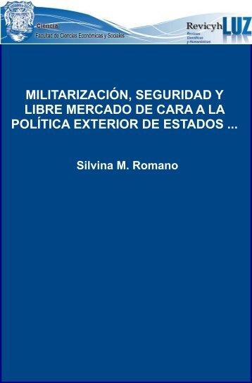 Militarización, seguridad y libre mercado de cara a la política ...