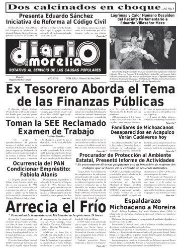 00 DIARIO.indd - La Extra / Diario de Morelia / Noticias Morelia ...