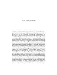 IV. Los agroecosistemas - Instituto Nacional de Ecología