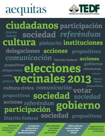 Aequitas - Tribunal Electoral del Distrito Federal