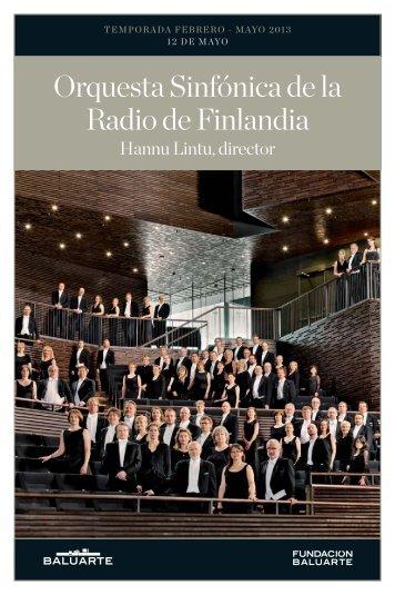 Orquesta Sinfónica de la Radio de Finlandia