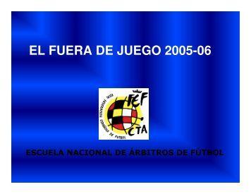 EL FUERA DE JUEGO 2005-06 - Arbitrajebalear