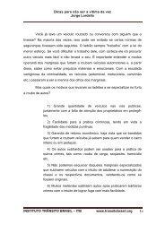 Trnsito seguro responsabilidade de todos Wilson de ... - Trânsito Brasil