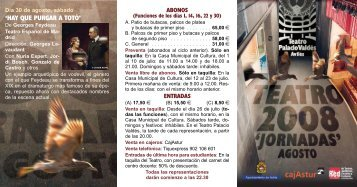 Tr.pt Teatro 2008 Jornadas - El Comercio