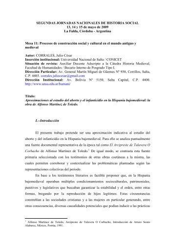 aproximaciones al estudio del aborto y el infanticidio en la hispania ...