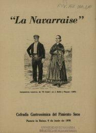 La Navarraise - Universidad de Navarra