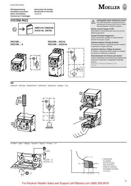 SYSTEM PKZ2 - Klockner Moeller Parts