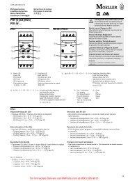 PFR-(5)(03)(003), PFR-W - Klockner Moeller Parts