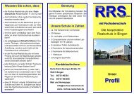 Profil-Flyer - Rochus Realschule plus