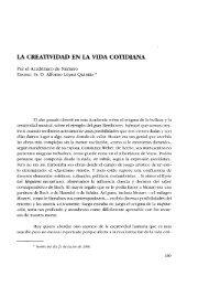 lA CREATIVIDAD EN lA VIDA COTIDIANA - Real Academia de ...
