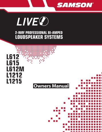 LIVE Series Manual - Full Compass