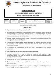 Observadores - Associação de Futebol de Coimbra