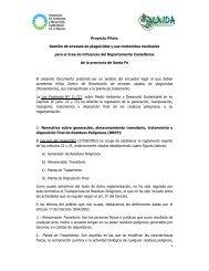Consideraciones legales - Secretaria de Ambiente y Desarrollo ...