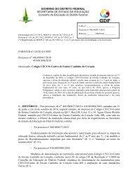 126-2012-CEDF-Colégio CECCO - Centro de Ensino Cantinho do ...