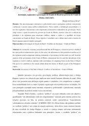 Jurisdição, regimentos e governação do Estado do Brasil no ...