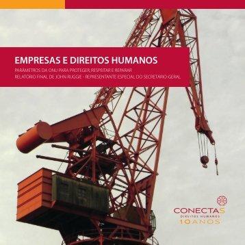 EMPRESAS E DIREITOS HUMANOS - Conectas
