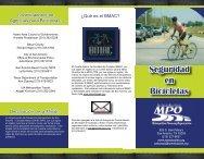 Seguridad en Bicicletas - San Antonio Metropolitan Planning ...