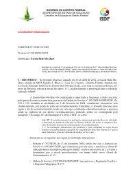 069-2013-CEDF-Escola Bem-Me-Quer.pdf - conselho de educação ...