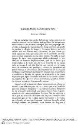 Experiencias lexicográficas - Centro Virtual Cervantes