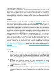 Erfolgs-Check im Social Web (Stand: 30.11.2011) - RockCity ...