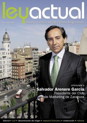 Salvador Arenere García - Ley Actual