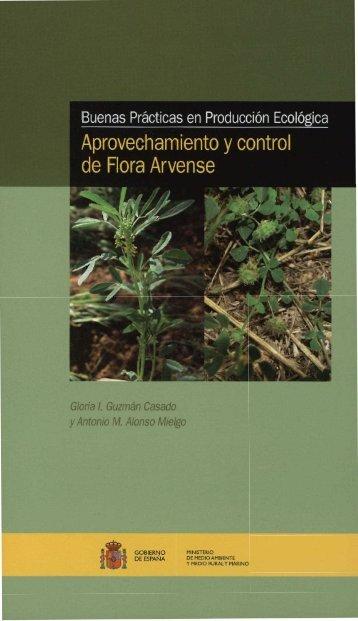 Aprovechamiento y control de flora arvense (NIPO: 770-11-278-4)