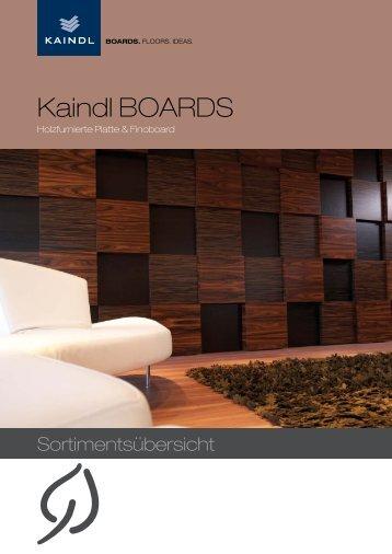 Kaindl BOARDS