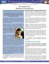 El Adulterio II Medidas Preventivas - Esperanza para la Familia