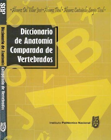 Diccionario de Anatomía Comparada de Vertebrados - AMMAC ...