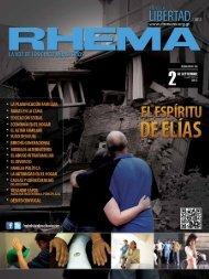 revista rhema septiembre 2012. - Ministerios Ebenezer Guatemala