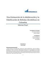 Una Estimación de la Adulteración y la Falsificación de ... - Andi