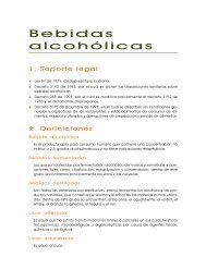 BEBIDAS ALCOHOLICAS - Inicio