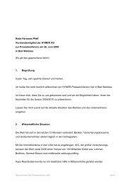 Rede Hermann Pfaff Vorstandsmitglied der HYMER AG zur ...