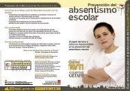 Funciones: de la Mesa Local de Abszentismo Escolar Funciones de ...