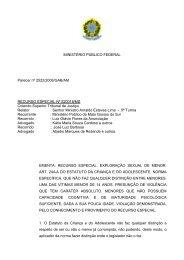 MINISTÉRIO PÚBLICO FEDERAL Parecer nº 2522/2006/GAB/AM ...