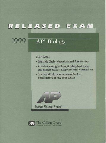 1999 ap biology essay rubric Irubric bx8a6xc: rubric title essay ap biology built by tmmazak using irubriccom free rubric builder and assessment tools.