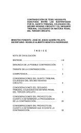 CONTRADICCION DE TESIS 58/99