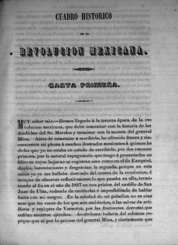 Carta primera - Bicentenario