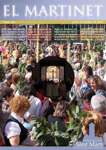 Martinet núm:144 - parròquia de Sant Martí
