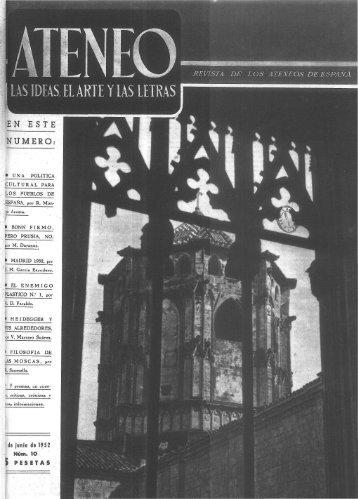 NUMERO: - Ateneo de Madrid