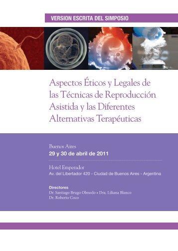 Aspectos Éticos y Legales de las Técnicas de Reproducción ...
