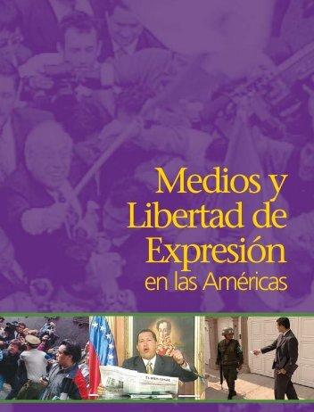 Medios y Libertad de Expresión - Centro de Formación en ...