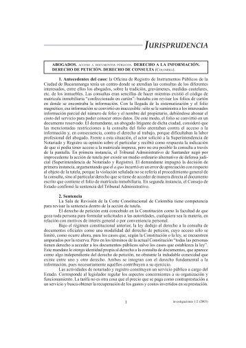 Investigaciones 1/2 (2003) - Corte Suprema de Justicia de la Nación