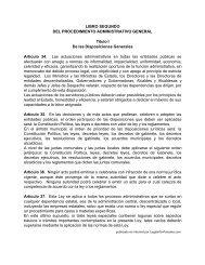 Ley 38 de 2000 sobre Procedimiento Administrativo - Legal Info ...
