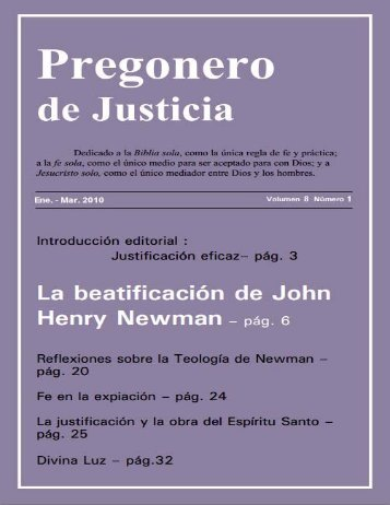 Vol. 8 #1 John Henry Newman - Life Research International