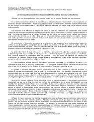 Los instintos de auto-conservación y procreación ... - Pathwork México