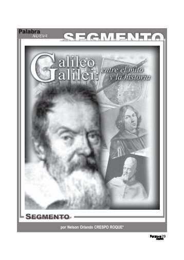 Galileo Galilei: entre el mito y la historia. - Palabra Nueva
