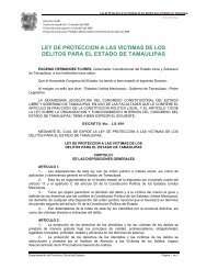 ley de proteccion a las victimas de los delitos para el estado de ...